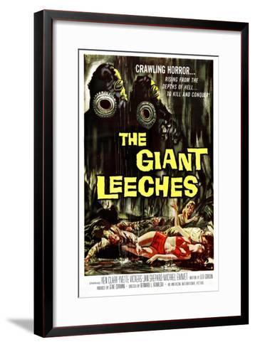 Attack of the Giant Leeches (aka the Giant Leeches), 1959--Framed Art Print