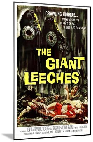 Attack of the Giant Leeches (aka the Giant Leeches), 1959--Mounted Photo