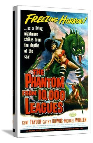 The Phantom From 10,000 Leagues, 1956--Stretched Canvas Print