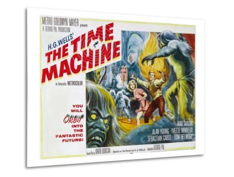 The Time Machine, Yvette Mimieux, Rod Taylor, 1960--Metal Print