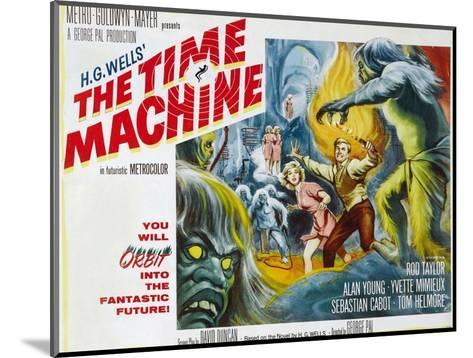 The Time Machine, Yvette Mimieux, Rod Taylor, 1960--Mounted Photo
