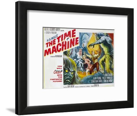 The Time Machine, Yvette Mimieux, Rod Taylor, 1960--Framed Art Print