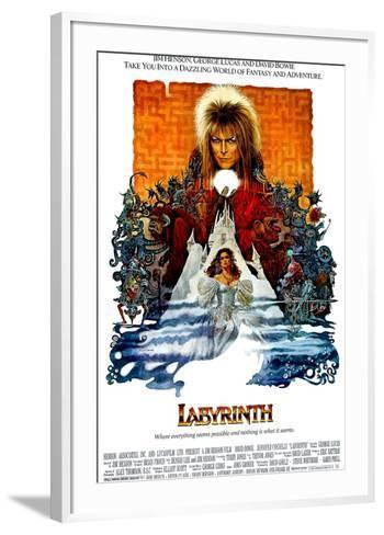 Labyrinth, David Bowie, Jennifer Connelly, 1986--Framed Art Print