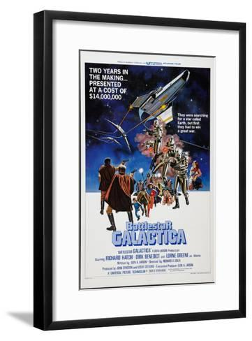 Battlestar Galactica, 1978--Framed Art Print