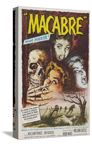 Macabre, 1958--Stretched Canvas Print
