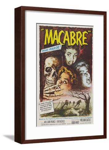 Macabre, 1958--Framed Art Print