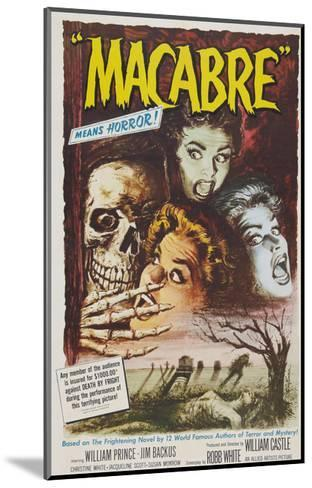 Macabre, 1958--Mounted Photo