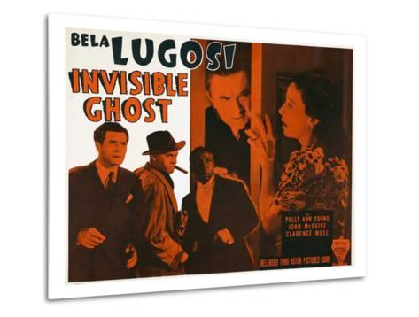 Invisible Ghost, 1941--Metal Print