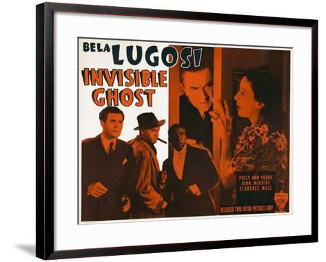 Invisible Ghost, 1941--Framed Art Print