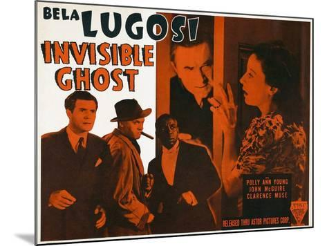 Invisible Ghost, 1941--Mounted Photo