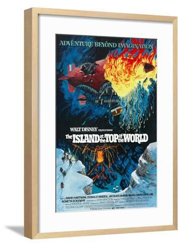 The Island At the Top of the World, 1974--Framed Art Print