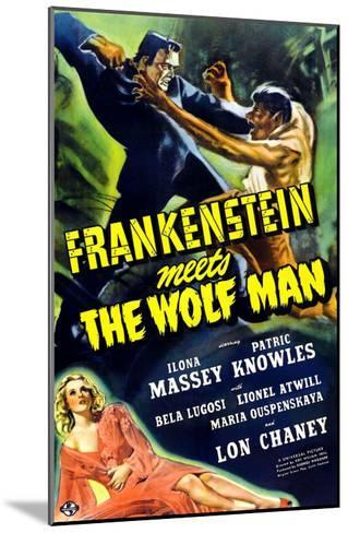 Frankenstein Meets the Wolf Man, 1943--Mounted Photo