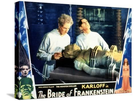 Bride of Frankenstein, Ernest Thesiger, Elsa Lanchester, Colin Clive, 1935--Stretched Canvas Print