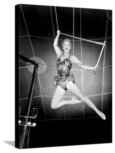 The Greatest Show on Earth, Betty Hutton, 1952--Stretched Canvas Print