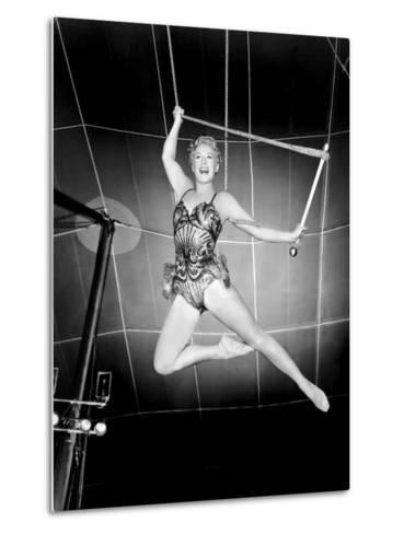 The Greatest Show on Earth, Betty Hutton, 1952--Metal Print