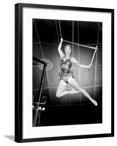 The Greatest Show on Earth, Betty Hutton, 1952--Framed Art Print