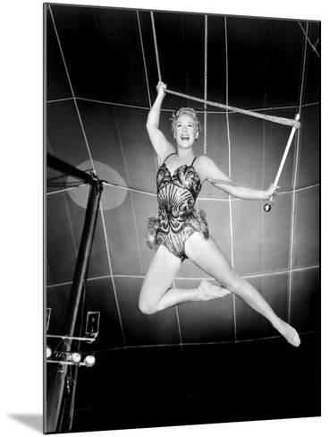 The Greatest Show on Earth, Betty Hutton, 1952--Mounted Photo