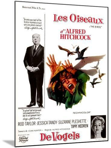 The Birds, Tippi Hedren, Alfred Hitchcock, 1963--Mounted Photo
