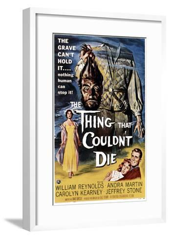 The Thing That Couldn't Die, 1958--Framed Art Print