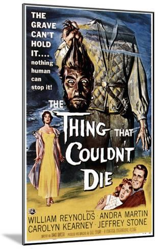 The Thing That Couldn't Die, 1958--Mounted Photo