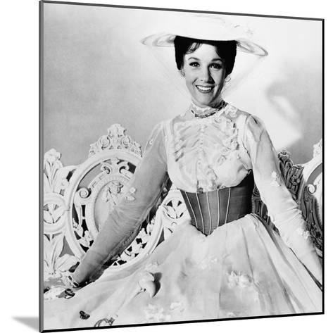 Mary Poppins, Julie Andrews, 1964--Mounted Photo