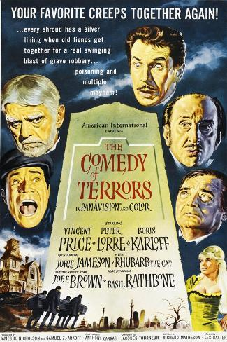 The Comedy of Terrors, 1964--Stretched Canvas Print