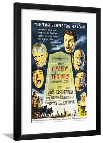 The Comedy of Terrors, 1964--Framed Art Print