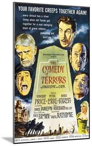 The Comedy of Terrors, 1964--Mounted Photo