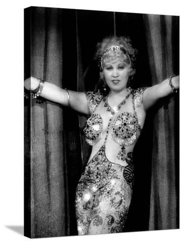 I'M No Angel, Mae West, 1933--Stretched Canvas Print
