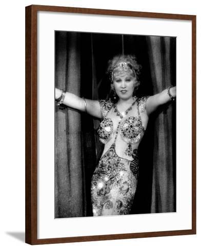 I'M No Angel, Mae West, 1933--Framed Art Print