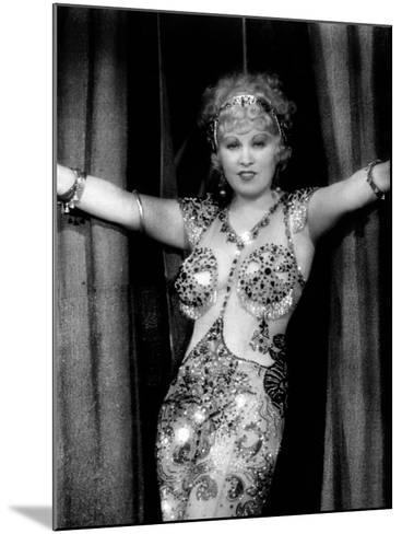 I'M No Angel, Mae West, 1933--Mounted Photo