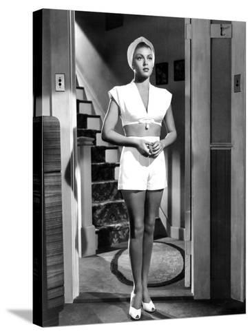 The Postman Always Rings Twice, Lana Turner, 1946--Stretched Canvas Print