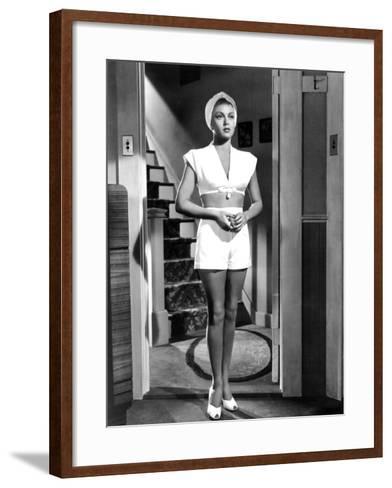 The Postman Always Rings Twice, Lana Turner, 1946--Framed Art Print