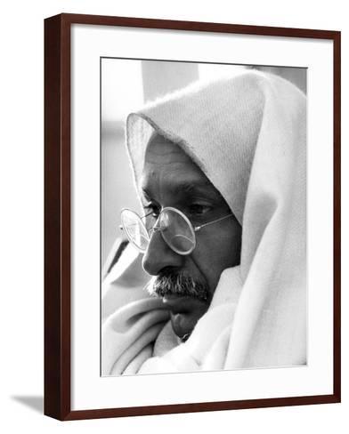 Gandhi, Ben Kingsley, (As Gandhi), 1982--Framed Art Print