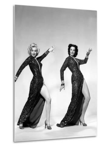 Gentlemen Prefer Blondes, Marilyn Monroe, Jane Russell, 1953--Metal Print