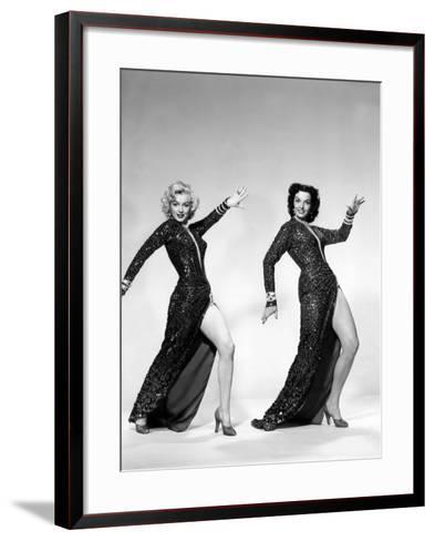 Gentlemen Prefer Blondes, Marilyn Monroe, Jane Russell, 1953--Framed Art Print
