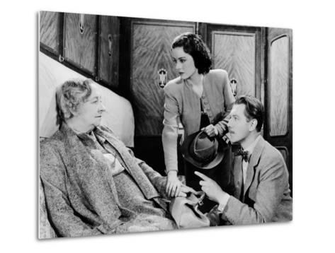 The Lady Vanishes, Dame May Whitty, Margaret Lockwood, Michael Redgrave, 1938--Metal Print