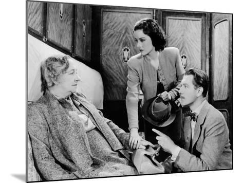 The Lady Vanishes, Dame May Whitty, Margaret Lockwood, Michael Redgrave, 1938--Mounted Photo