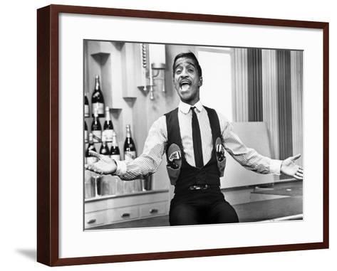 Robin and the 7 Hoods, Sammy Davis, Jr., 1964--Framed Art Print