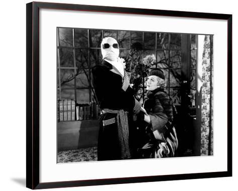 The Invisible Man, Claude Rains, Gloria Stuart, 1933--Framed Art Print