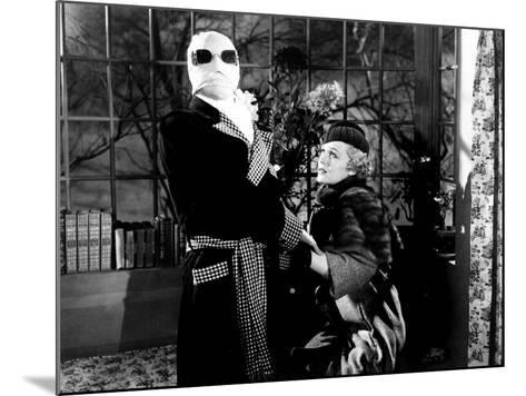 The Invisible Man, Claude Rains, Gloria Stuart, 1933--Mounted Photo