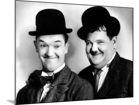 Laurel and Hardy--Mounted Photo