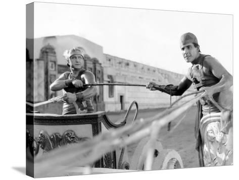 Ben-Hur, Francis X. Bushman, Ramon Novarro, 1925--Stretched Canvas Print