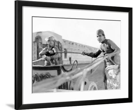 Ben-Hur, Francis X. Bushman, Ramon Novarro, 1925--Framed Art Print