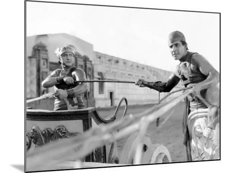 Ben-Hur, Francis X. Bushman, Ramon Novarro, 1925--Mounted Photo