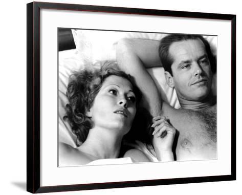 Chinatown, Faye Dunaway, Jack Nicholson, 1974--Framed Art Print