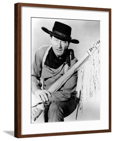 The Searchers, John Wayne, 1956--Framed Art Print