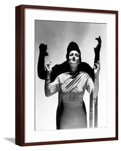 Dracula's Daughter, Gloria Holden, 1936--Framed Art Print