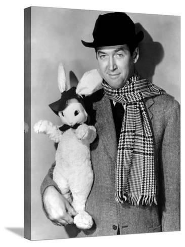 Harvey, Harvey the Rabbit, James Stewart, 1950--Stretched Canvas Print