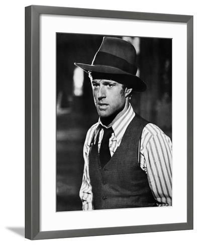 The Sting, Robert Redford, 1973--Framed Art Print